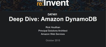 Amazon DynamoDB Deep Dive