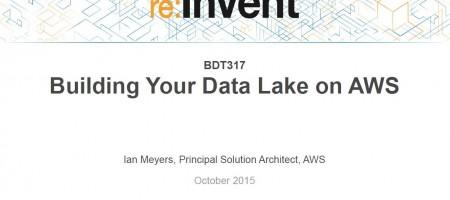Build a Data Lake on Amazon Cloud