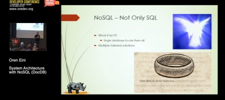 System Architecture With NoSQL